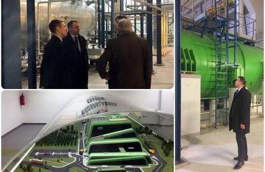 Синютка ознайомився із роботою сміттєспалювального заводу в Кракові