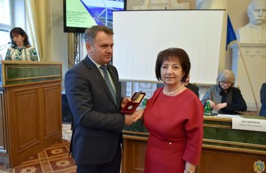 Синютка вручив державні нагороди видатним мешканцям Львівщини