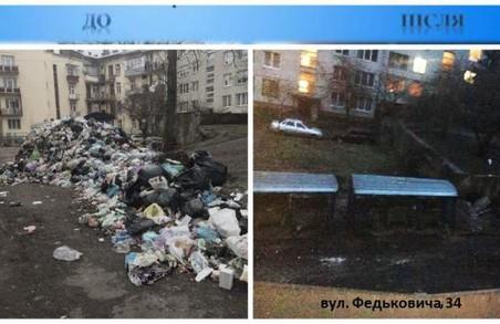 Силами ЛОДА у Львові очистили 39 переповнених сміттєвих майданчиків