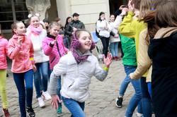 Львів долучився до Всеукраїнського флешмобу з безпеки дорожнього руху (ФОТО)