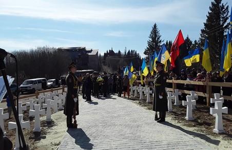 Делегації від Львівщини та Закарпаття віддали шану Січовим Стрільцям на Верецькому перевалі