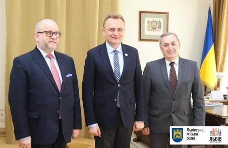 Садовий зустрівся із новим Генконсулом Польщі  у Львові