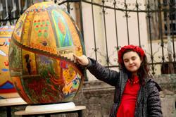 У Львові просто неба можна поглянути на писанки-гіганти (ФОТО)
