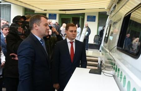 На Львівщині запустили мобільний сервісний центр МВС