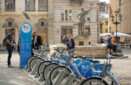 Стали відомі адреси станцій велопрокату у Львові