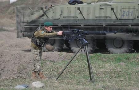 Прикордонна комендатура провела бойове злагодження на Львівщині