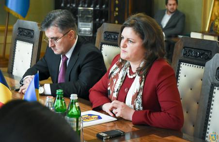 Румуни розвиватимуть двосторонні зв'язки з Львівщиною