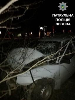 П'яний водій розтрощив автівку у Львівській області