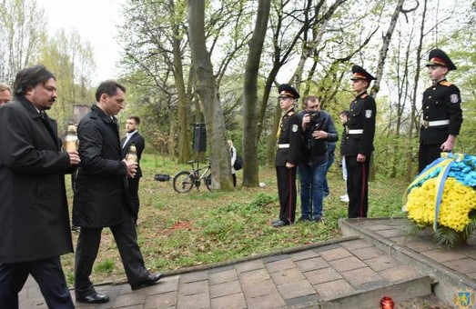"""У Львівській Цитаделі вшанували пам'ять в'язнів """"Шталагу-328"""""""
