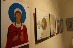 """Цілющі """"Джерела"""": у Львові представили виставку ікон створену в Трускавці (ФОТО)"""