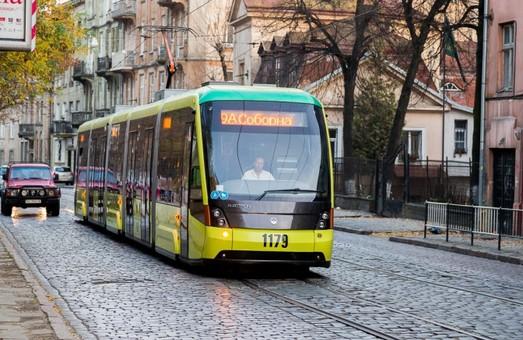 Через центр Львова не курсуватимуть трамваї