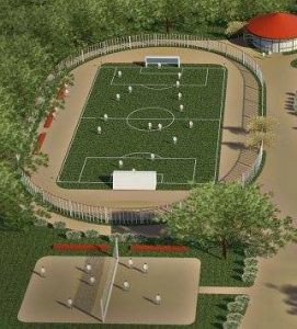 На Мостищині створять мультифункціональний спортивний комплекс