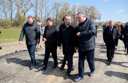 Віце-прем'єр-міністр особисто проконтролював стан доріг на Львівщині (ФОТО)