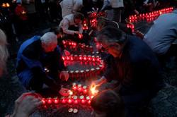 """Моторошні розповіді та сотні свічок: львів`яни згадують """"Віслу"""" (ФОТО)"""