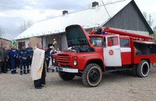 На Миколаївщині з'явилась нова пожежна команда