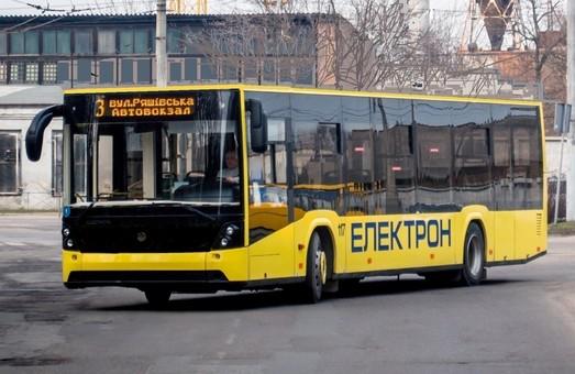 На маршрути Львова вийшли нові автобуси