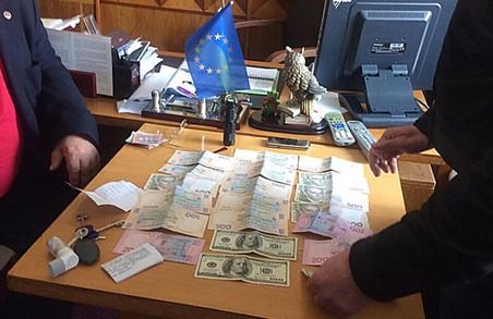 Головного лікаря затримали на Львівщині за хабарництво