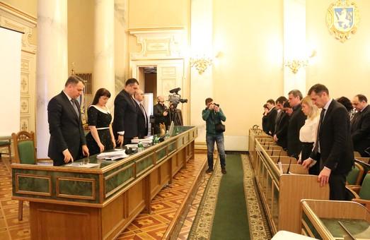 Львівська облрада зібралась на чергове пленарне засідання