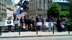"""Як у Львові """"протестували"""" проти поліції"""