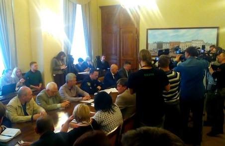 У Львові — позачергове засідання міської комісії з питань ТЕБ і НС