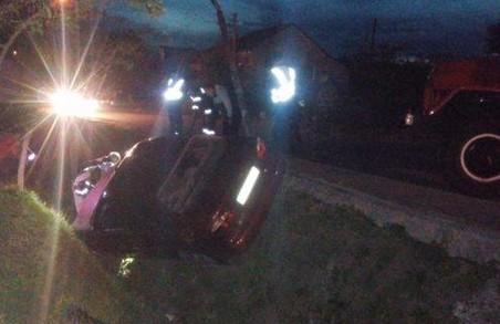 На Львівщині п'яний водій ледве не збив жінку-пішохода