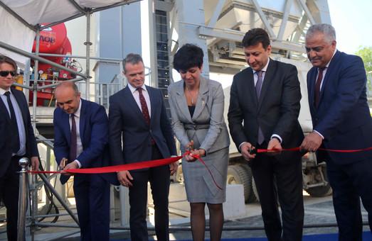 На Львівщині відкрили асфальтний завод (ФОТО)