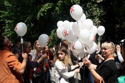 У Львові закликали пам`ятати про загрозу ВІЛ/Сніду (ФОТО)