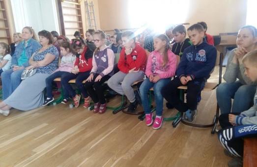 У Львові адаптували мультфільм для незрячих дітей