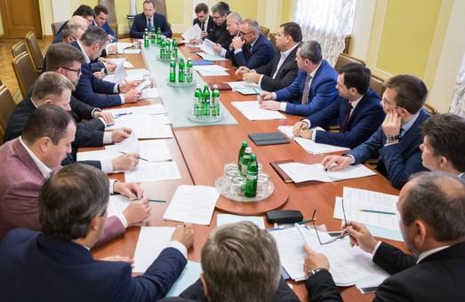 Райнін провів засідання Оргкомітету з підготовки та проведення в Україні Ліги Чемпіонів 2018 року з футболу