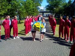 У Львові відзначили Свято Героїв на площі біля пам'ятника Шухевичу