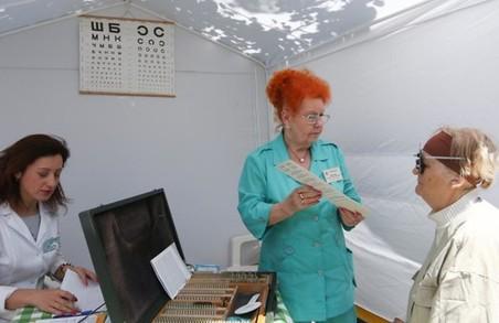 Мешканці Львова можуть перевірити своє здоров'я просто неба