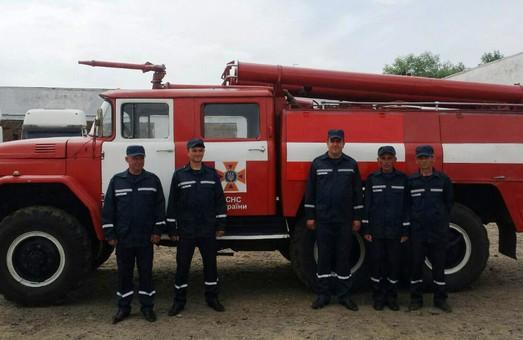 У Кам'янка-Бузькому районі з'явилась нова пожежна команда