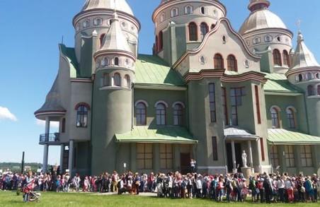 На Львівщині дитяча проща зібрала тисячу учасників