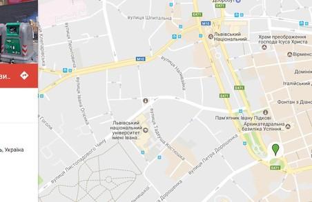 """У Львові створили інтерактивну """"сміттєву"""" мапу"""