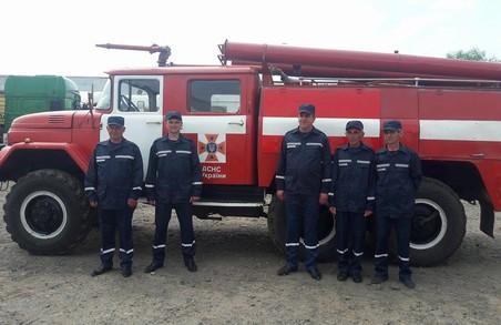 У Жовтанецькій громаді відкрили власну пожежну команду