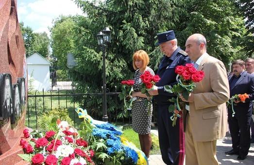 У Жовкві відкрили пам'ятник загиблим у Грибовичах рятувальникам