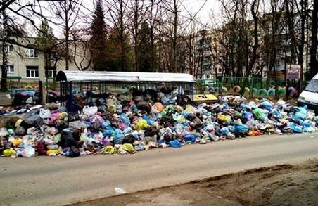 Львів'яни офіційно вимагають очистити місто від сміття