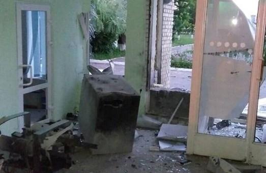 У Буську, підірвавши банкомат, невідомі вкрали близько 200 тисяч гривень