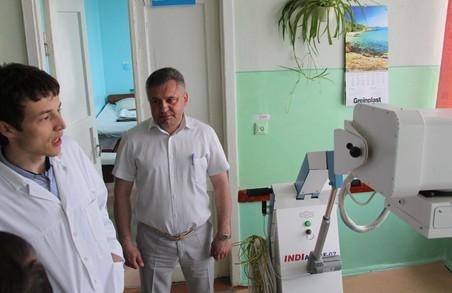 У Дрогобицькій міській лікарні з'явився портативний рентген-апарат