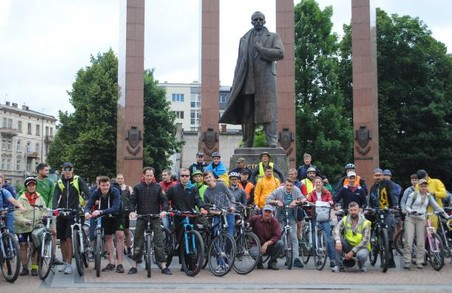 На Львівщині відбувся велопробіг «Від Степана до Євгена»