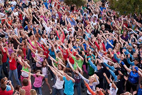 Молодь Львівщини запрошують взяти участь у танцювальному флешмобі