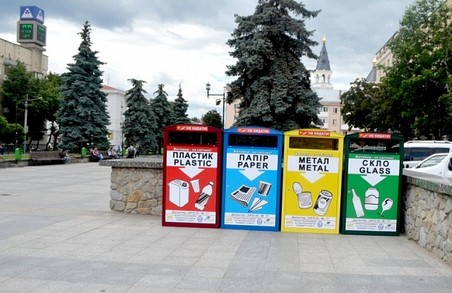 У Житомирі встановлять 190 контейнерів для роздільного збору сміття