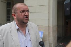 Біля львівської Ратуші показали справжнє єство мера Садового (ФОТО)