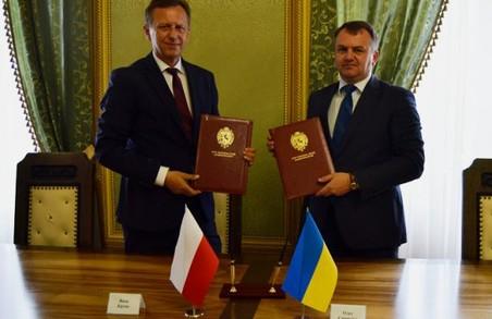 Голова Львівської ОДА та Маршалек Малопольського воєводства підписали Протокол про співпрацю