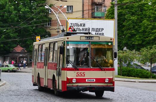 У Львові тролейбуси курсуватимуть за зміненими маршрутами