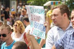 «Ганьбець» по львівськи: «сміттєве віче» у Львові, яке ні до чого не призвело (ФОТО)