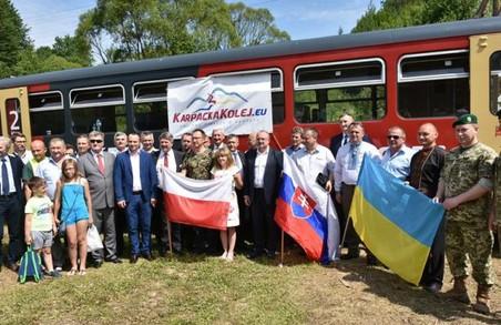 Потяг Хирів (Україна) – Загуж (Республіка Польща) здійснив пробний рейс