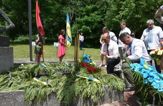 В урочищі Саліна вшанували закатованих жертв НКВС