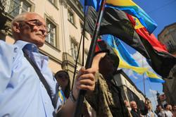 У Львові на пам`ятному балконі згадали визначні події української держави (ФОТО)