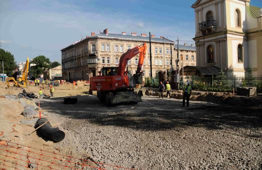 Проїзд на перехресті вул. Личаківської з вул. Мечникова буде відкрито в середині липня